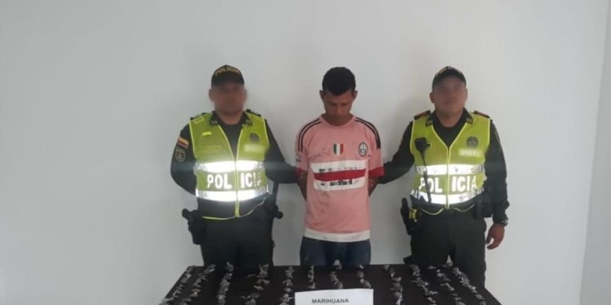 El aprehendido fue identificado como Luis Miguel Rodríguez Baza.