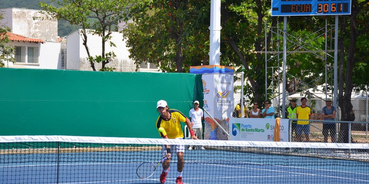Las mejores raquetas del país verán acción en el complejo de tenis de Santa Marta.