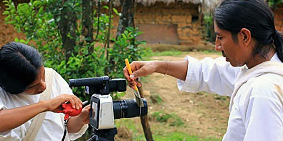 Largometraje de la comunidad indígena.