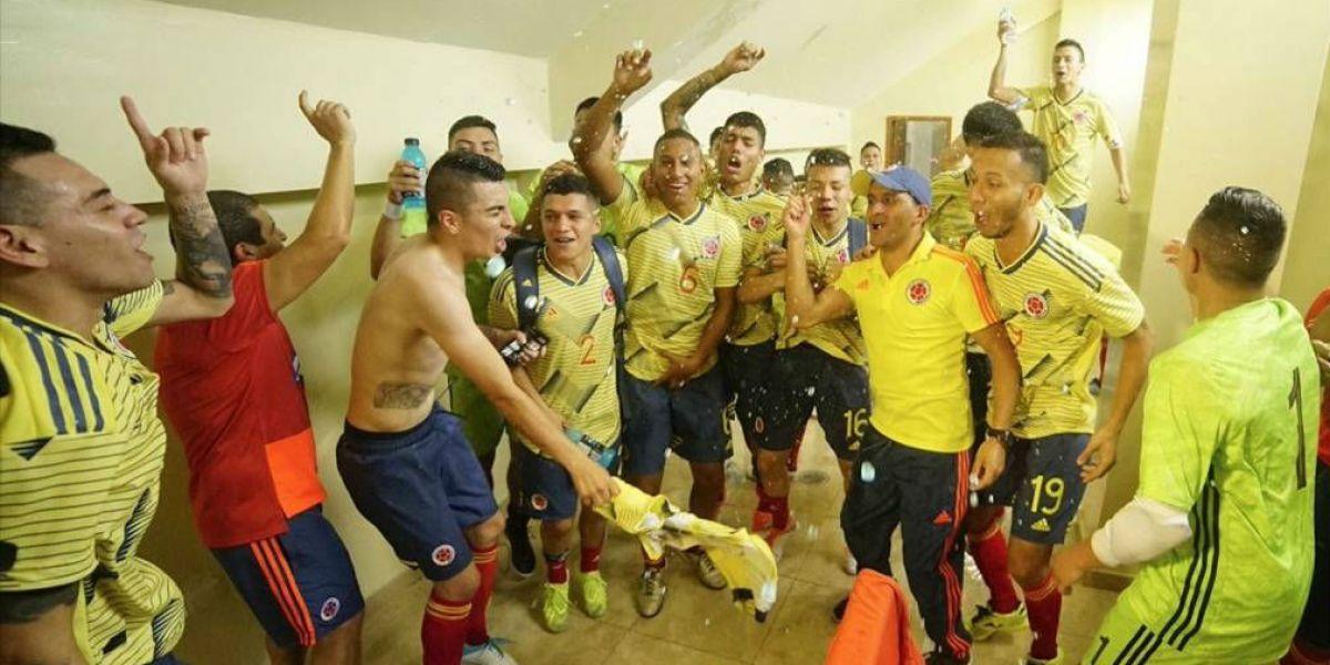 Selección Colombia de fútbol sala.