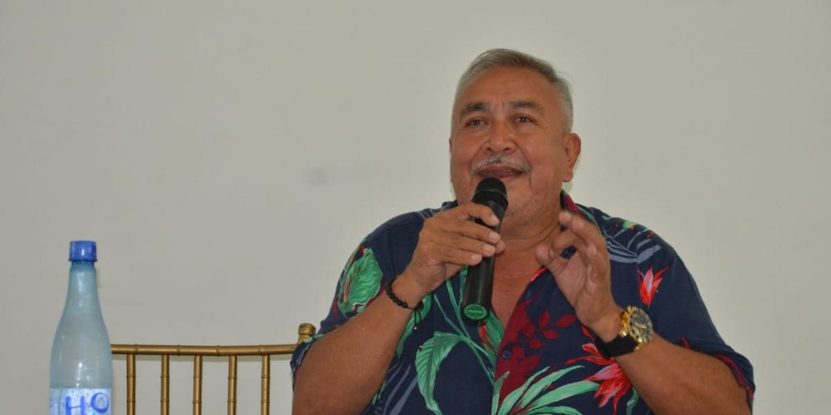 Germán David Paredes Duarte, representante legal de la Unión Temporal Hielo y Agua Purificada La Roca