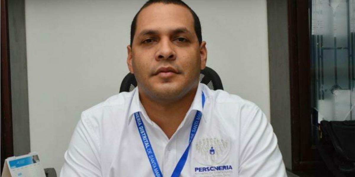 Chadán Rosado, actual personero de Santa Marta