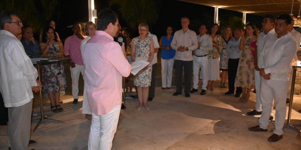 La gobernación del Magdalena fue la encargada de dar la bienvenida al grupo conformado por 10 embajadores de la Unión Europea que visitan el departamento.