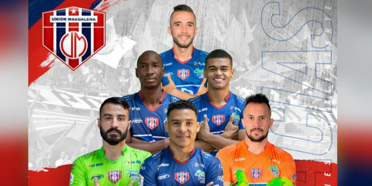Jugadores que salen del Unión Magdalena.