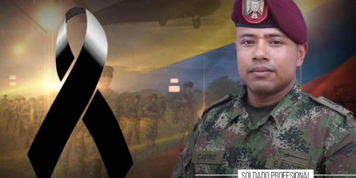 Soldado muerto por ataque del ELN.