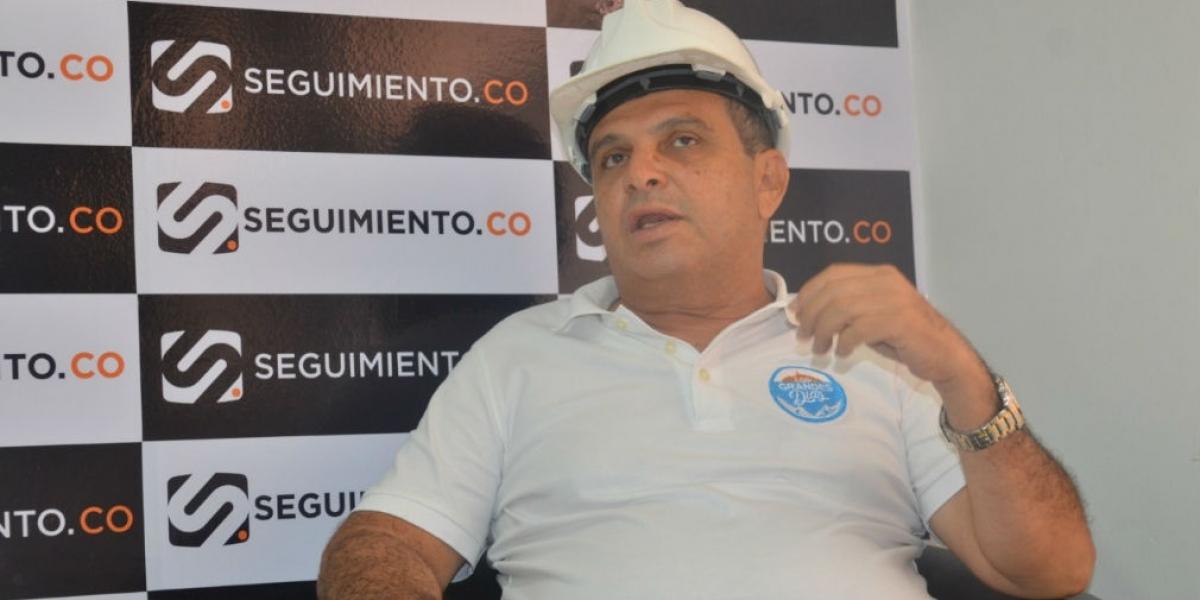 El ingeniero Humberto Díaz fue candidato a la Alcaldía de Santa Marta.