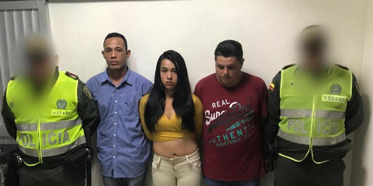 Odair Moreno Roncanci, Viviana Garay Barreto y Exny José Polanco Torrealba.