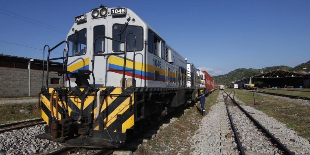 Hace tres meses arrancó la operación semanal del tren entre Santa Marta y La Dorada.