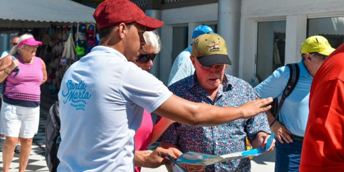 Según la Alcaldía, más de 26 mil cruceristas han llegado a la ciudad.