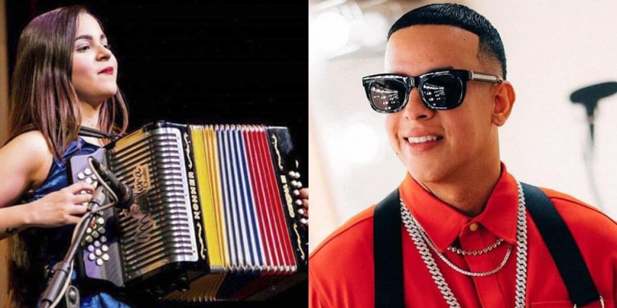 Daddy Yankee y Maria Silena Ovalle