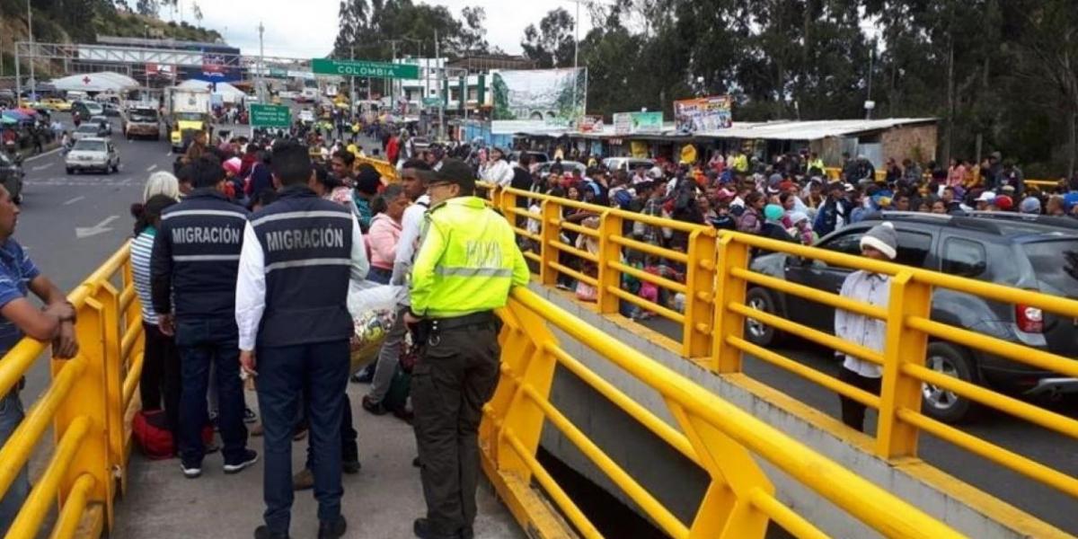 Bloqueo en la frontera