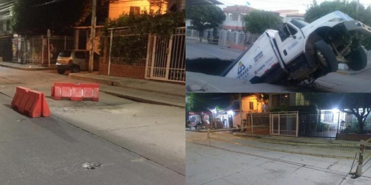 Estado de la calle en estos últimos años.