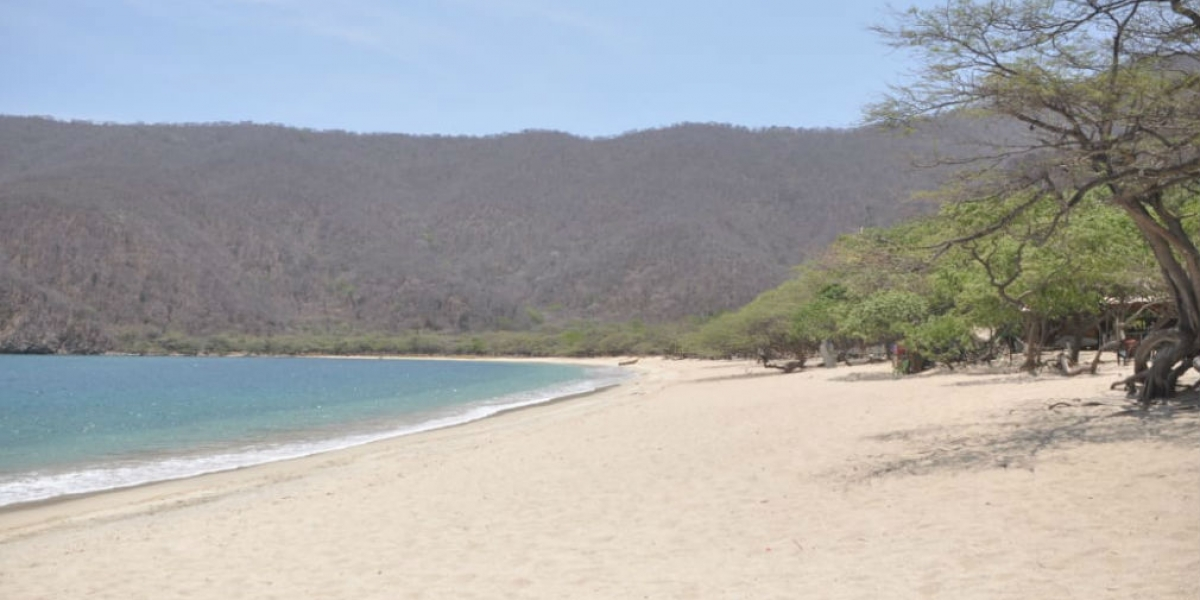 Una de las playas donde se llevará a cabo la 'playatón'.