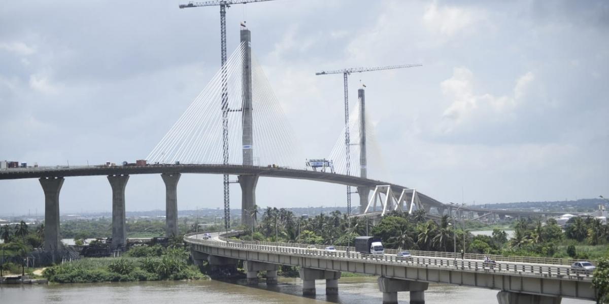 Nuevo Puente Pumarejo será inaugurado el 20 de diciembre por el Presidente Duque