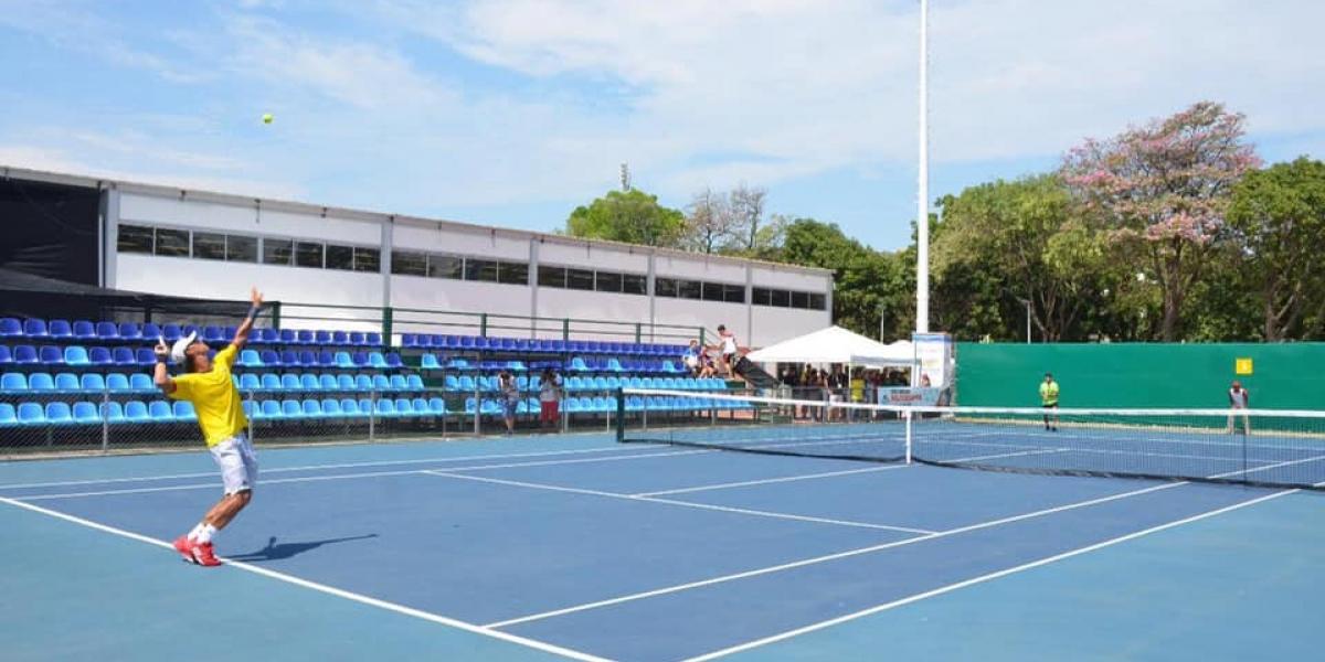 Desde este lunes comienza el Santa Marta Tenis Open M15.
