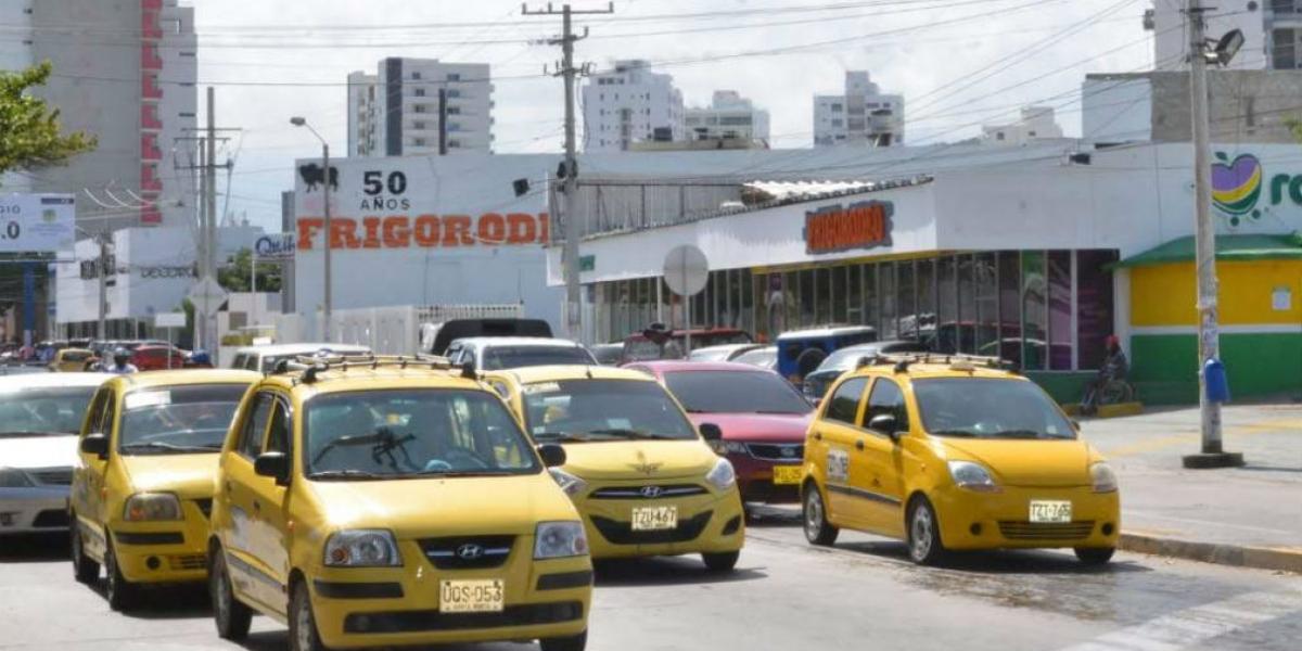 Los taxis en Santa Marta ahora ganan más con la actualización de la tarifa.