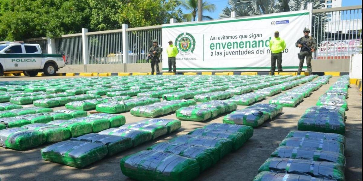 El cargamento tendría un valor en el mercado negro de 7.634 millones 275 mil pesos.