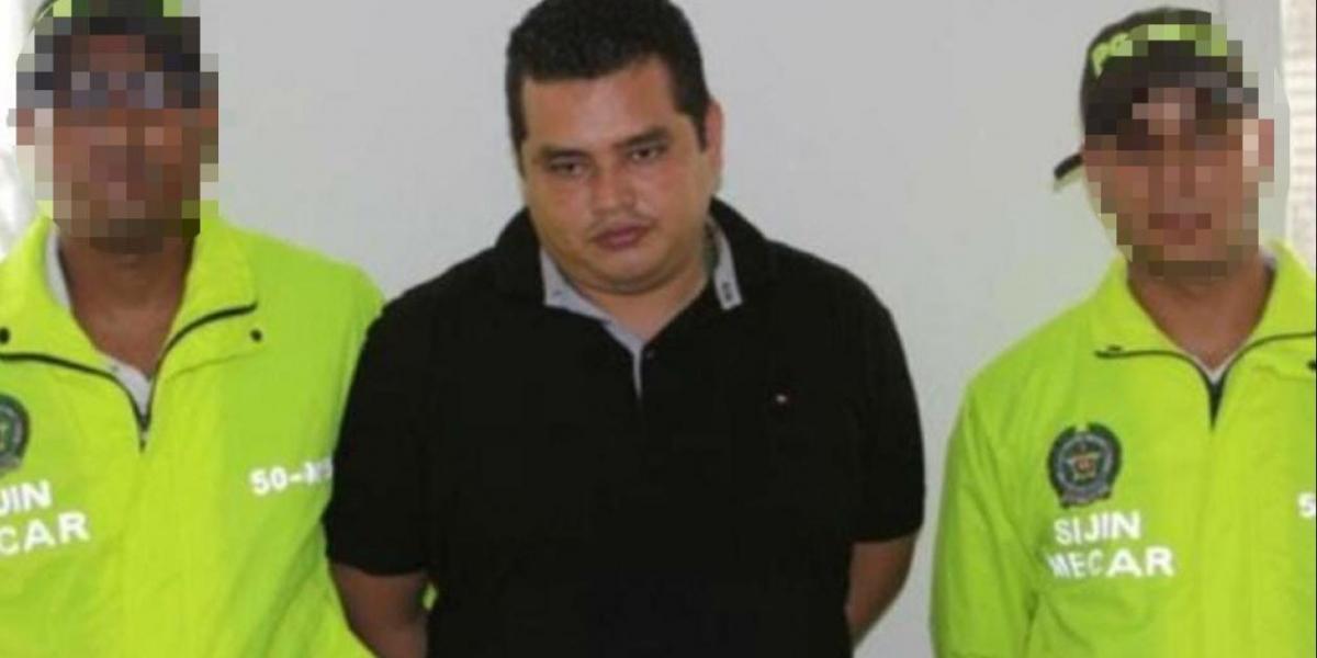 Brayan Eduardo Borré Barreto, alias 'Tio Guillo', líder de la banda 'Los Costeños'.
