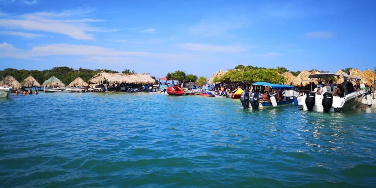Isla de Cholón, donde ocurrió el accidente de yate en el que murió Valentina González.