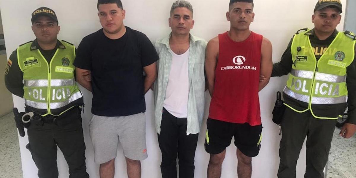 Capturados por brutal pelea en Soledad, Atlántico.