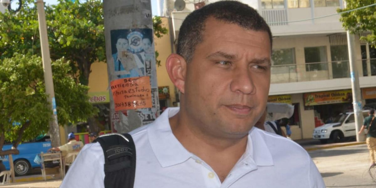 El abogado Luis Carlos Torregrosa, apoderado de Carlos Caicedo