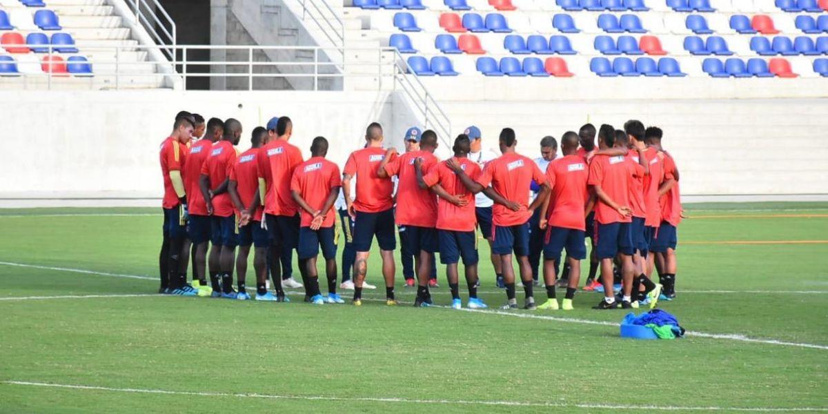 La nómina de la Selección Colombia Sub-23.