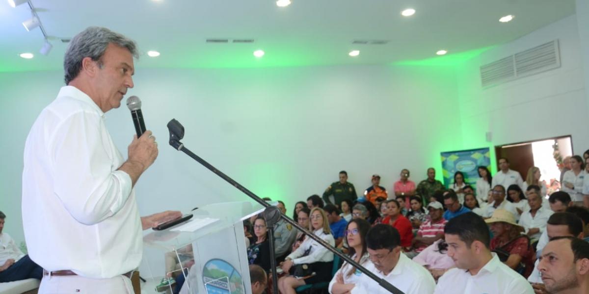 Carlos Francisco Diaz Granados Director de Corpamag en la rendición de cuentas