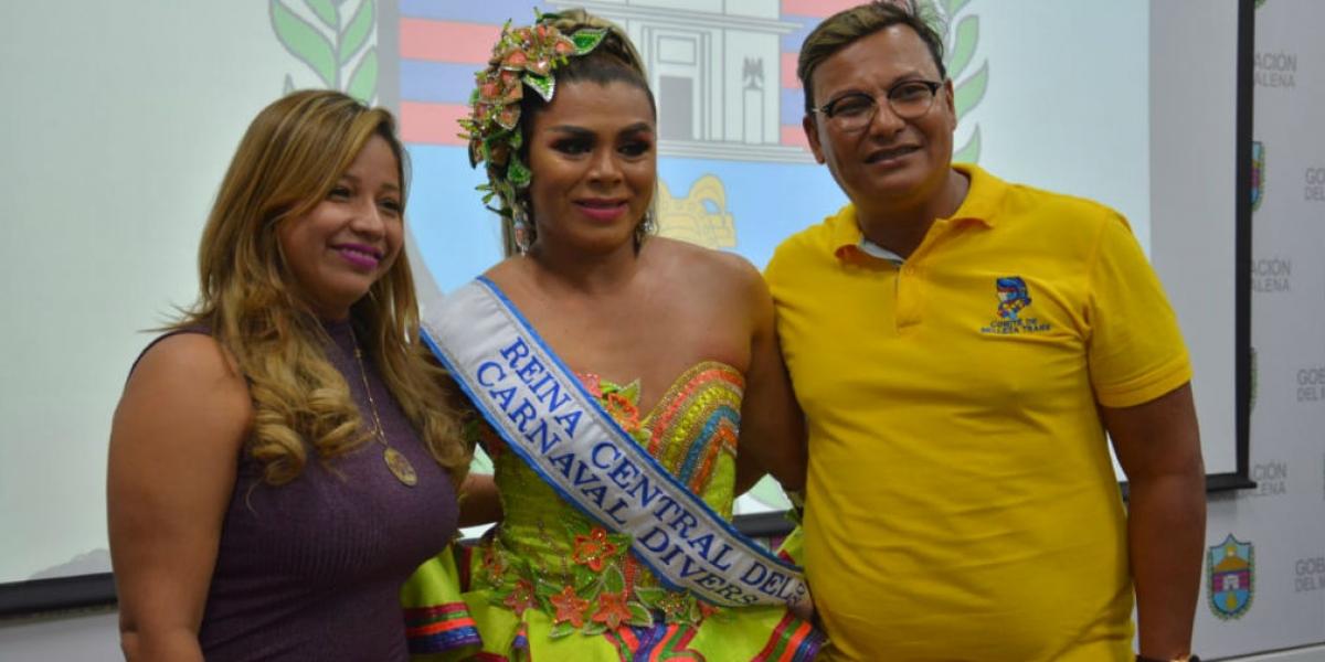 Pamela Ibáñez, nueva reina del Carnaval Diverso de las Luces 2020.