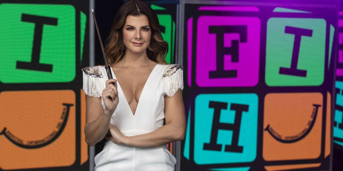 Carolina Cruz, presentadora del Festival Internacional del Humor.