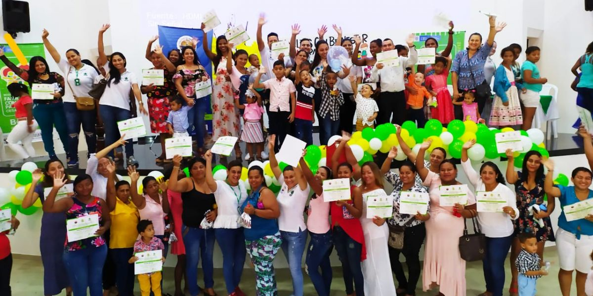 Familias beneficiadas con programa de Unimagdalena y el Icbf
