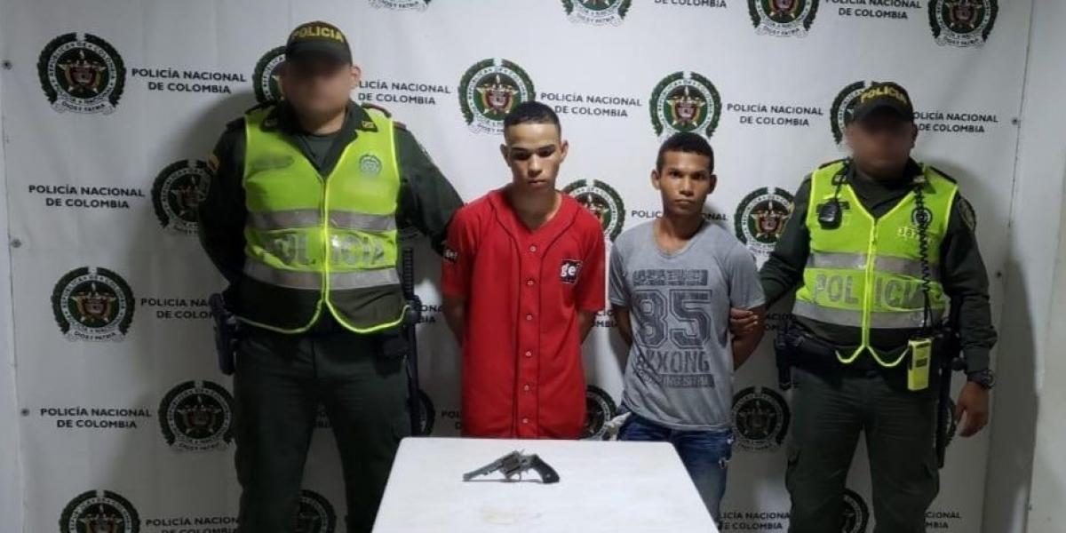 Capturados en Fundación por porte ilegal de arma de fuego