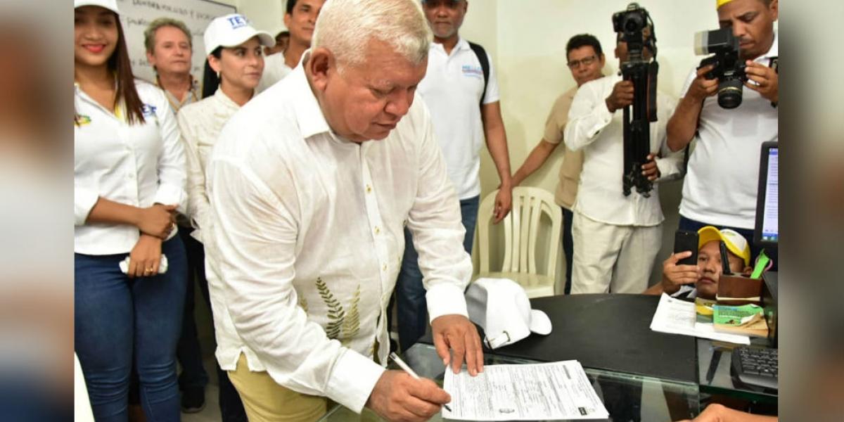 Tete Samper será uno de los mandatarios electos que se posesionará antes del primero de enero.