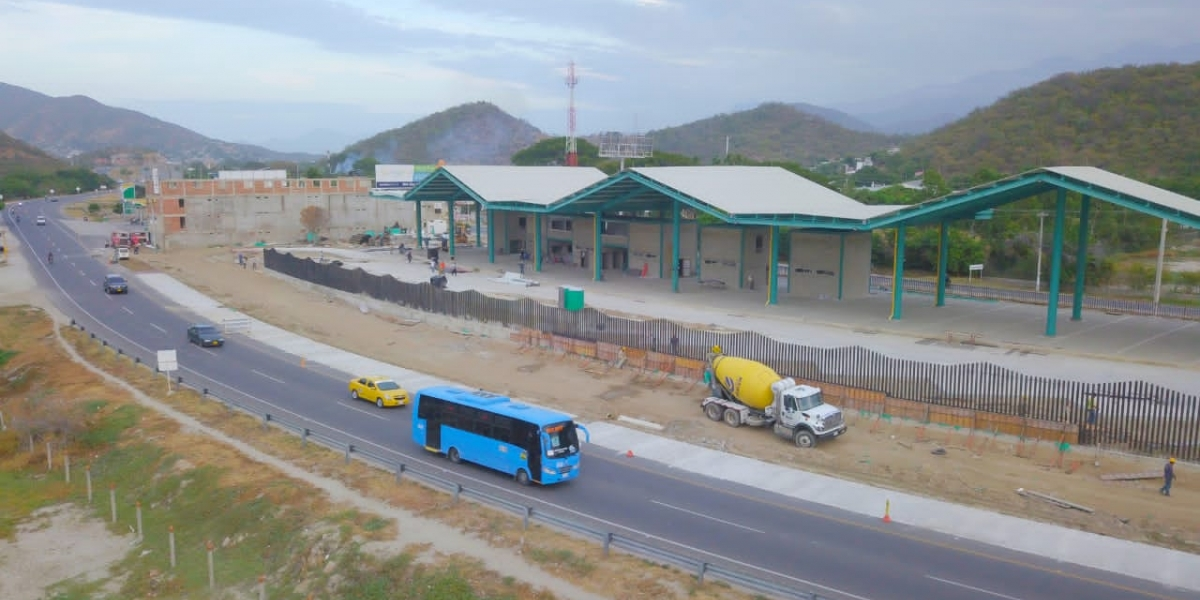 Así luce la nueva terminal de transferencias de Gaira