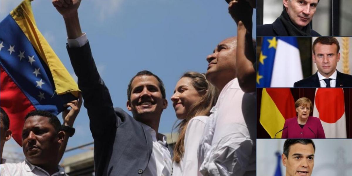 Más países se suman a Juan Guaidó.