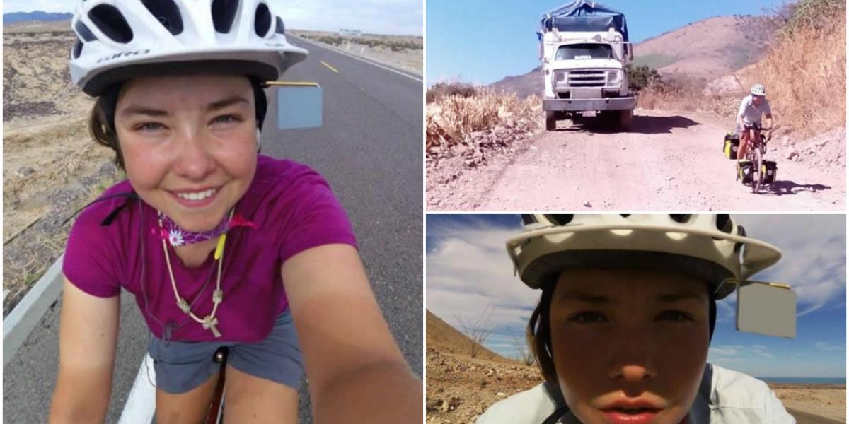 Sarah Stork, turista canadiense