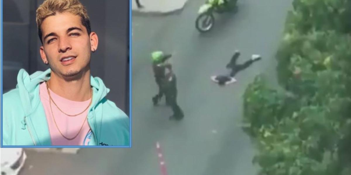 Legarda murió tras sufrir un impacto de bala.