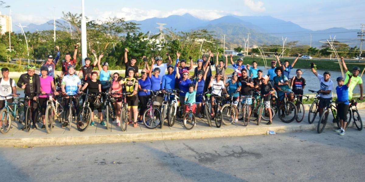 Ya son dos los ciclo paseos realizados en la ciudad de cuatro en total que se llevarán a cabo este mes.