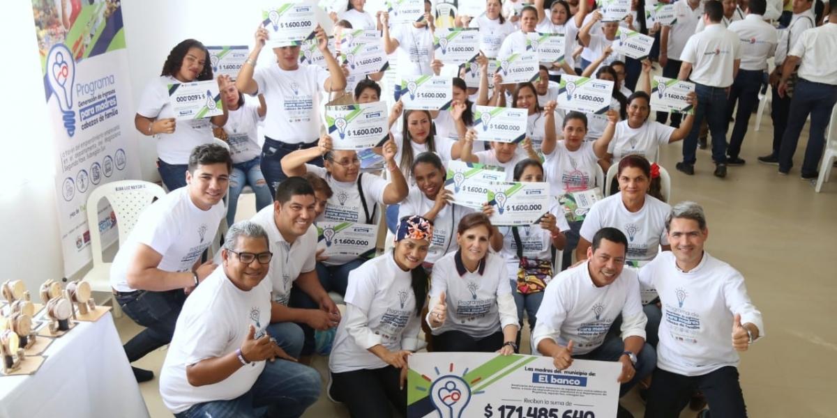 La entrega de apoyos económicos es la segunda etapa del proyecto que se ejecuta en alianza con la Universidad del Magdalena.