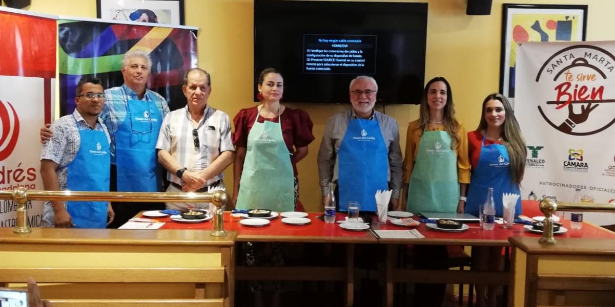 Lanzamiento de la campañana 'Santa Marta Sirve Bien'