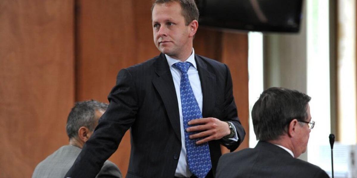 André Felipe Arias, investigado por delitos.
