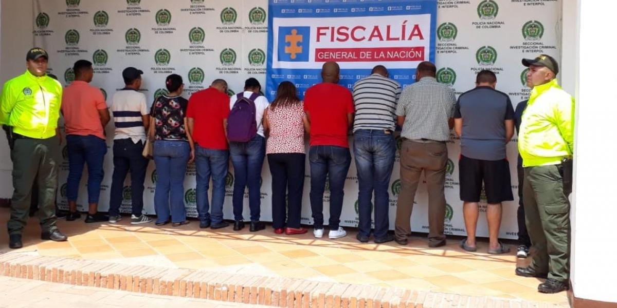 Capturadas 12 personas por Fraude Pensional en Bolívar
