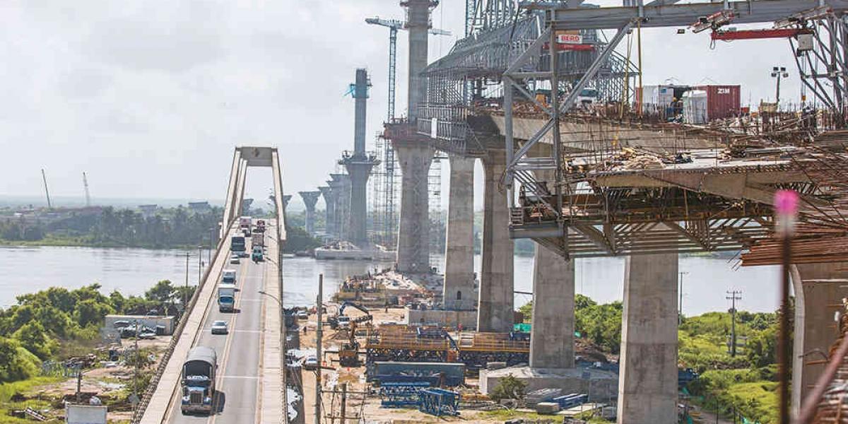 El proyecto busca que la vía este a la altura del nuevo Puente Pumarejo y así no se presenten trancones en la Barranquilla-Ciénaga.