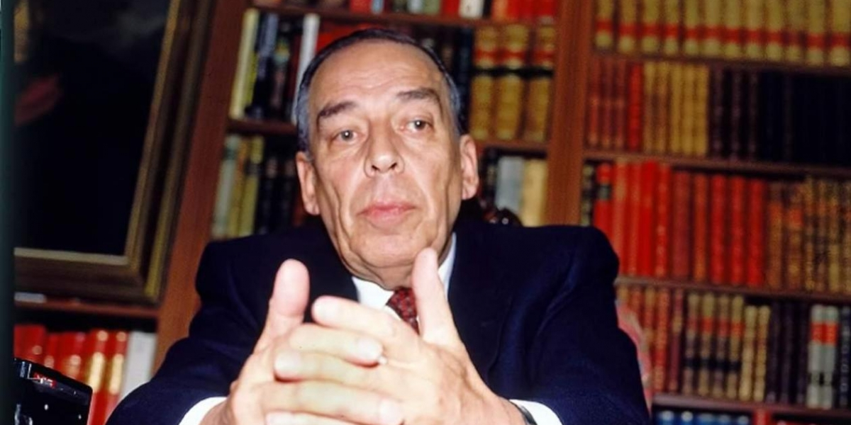 El excandidato Álvaro Gómez Hurtado.