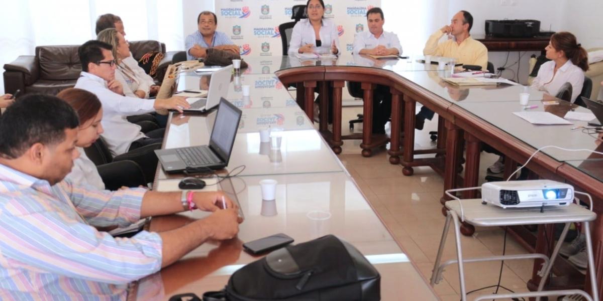 En la reunión participaron varias entidades del orden departamental y nacional.