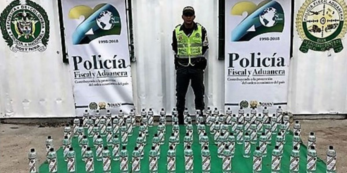 Policía Fiscal y Aduanera en coordinación con la Dirección Seccional de Aduanas, decomisó mercancías de contrabando que ascienden a los 96 millones de pesos.