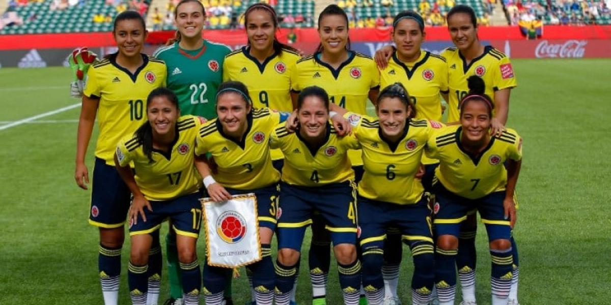 Resultado de imagen para seleccion colombia femenina