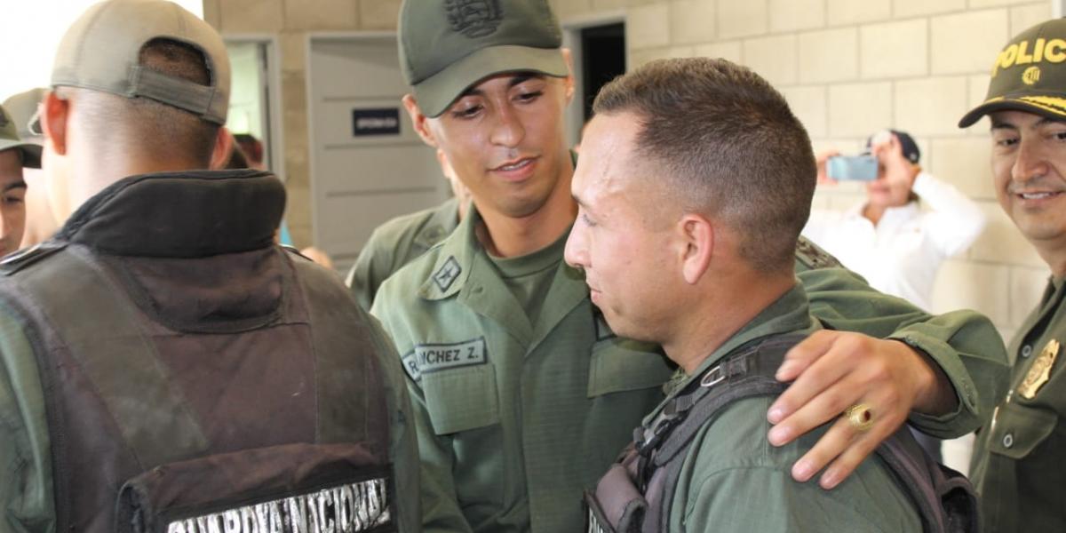 Los uniformados han salido por la frontera con Colombia.