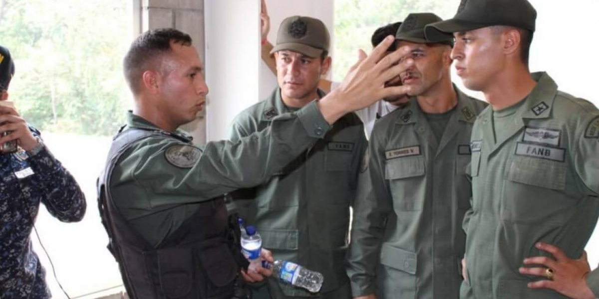 Militares venezolanos que desertaron.