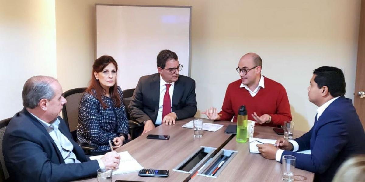 Reunión entre Gobernación y Gobierno Nacional.