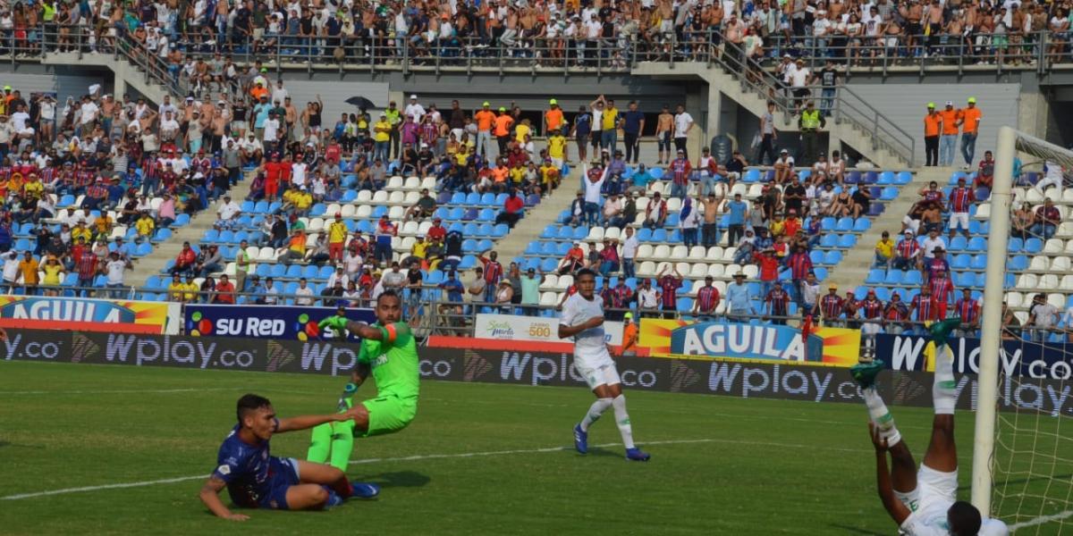 El goleador samario espera regresar al gol ante Millonarios, en una dura plaza como el Campín.